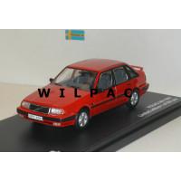 Volvo 440 Turbo type 2 1988 rood Triple 9 1:43
