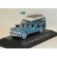 Volvo PV445 Duett 1957 Service blauw grijs Atlas Ixo 1:43