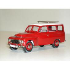 Volvo PV445 Duett 1957 rood grijs Rob Eddie RE21b 1:43