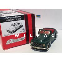 Volvo PV445 1953 Valbo cabrio donkergroen Somerville #138 1:43