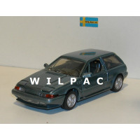 Volvo 480 Turbo blauw metallic AHC Doorkey 1:43