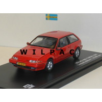 Volvo 480 Turbo 1987 rood Triple 9 1:43