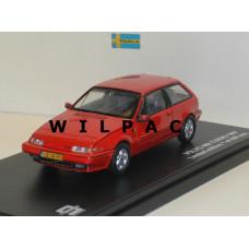 Volvo 480 Turbo 1987 rood Triple 9 1:43