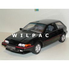 Volvo 480 Turbo 1:18 zwart 1989 OTTOmobile