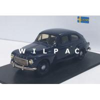Volvo PV544 1958 donkerblauw Nikki / Heco 1:43