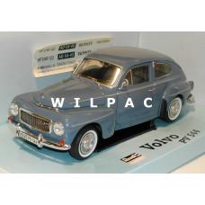 Volvo PV544 1:18 leiblauw -repaint- Revell Katterug
