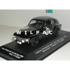 Volvo PV544 1965 3e 24 uur Spa Francorchamps #17 obv Ixo 1:43