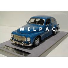 Volvo PV544 1:18 1965 blauw Tecno Models