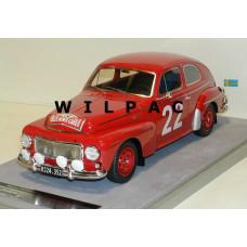 Volvo PV544 1:18 1965 Monte Carlo Rally Nielsen Henriksen Tecno Models