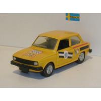 Volvo 66 DL rally geel 1975 Pilen 1:43