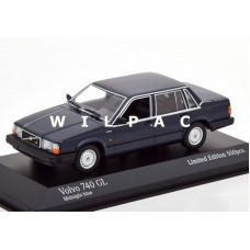 Volvo 740 GL 1986 donkerblauw Minichamps 1:43