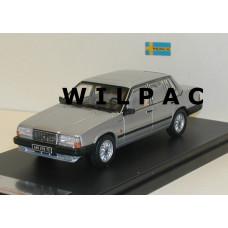 Volvo 740 Turbo zilvergrijs metallic 1985 Premium X 1:43