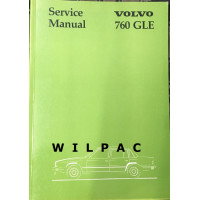 Boek: Volvo 760 GLE Workshop / Service Manual 1982 Engelstalig