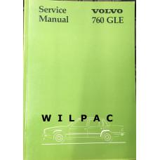 Boek: Volvo 760 GLE Workshop / Service Manual 1982 Engelstalig