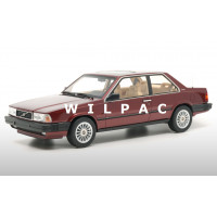 Volvo 780 Bertone rood metallic 1986 DNA Collectibles 1:18