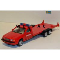 Volvo 850 Autotransporter VOLVO rood 1:43