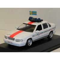 Volvo 850 1994 Belgische Politie Rijkswacht obv Minichamps 1:43 code 3