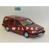 Volvo 850 Estate 1995 donker rood metallic RHD RECHTS STUUR AHC 1:43