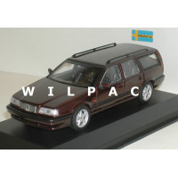 Volvo 850 Estate 1994 donker rood metallic MAXIchamps 1:43