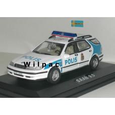 SAAB 9-5 Estate Stockholm politie POLIS Junior 1:43