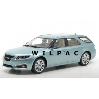 SAAB 9-5 Sport Combi gletcher zilver metallic 2010 DNA Collectibles 1:18