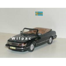 Saab 900 Cabrio Turbo zwart 1987 Somerville #130 1:43