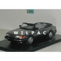 SAAB 900 Cabrio grijs metallic 1987 NEO 1:43