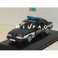 Saab 900i Polis Poliisi, Finse politie DeAgostini 1:43