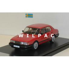 Saab 900i rood 1987 Premium X 1:43