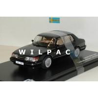 Saab 900i 1987 zwart Triple 9 1:43
