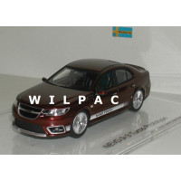 Saab NEVS 9-3 Turbo prototype rood metallic DNA Collectibles 1:43