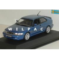 SAAB 9-3 Viggen blauw metallic SMCC Minichamps 1:43