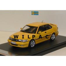 Saab 9-3 Viggen geel 1999 Premium X 1:43