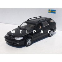 SAAB 9-5 Estate 1999 zwart SMCC Model Car Collection Minichamps 1:43