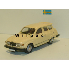 SAAB 95 GL 1978 geel 1:43 Rob Eddie RE33