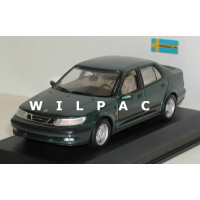 SAAB 9-5 Saloon 1997 donker groen metallic SMCC Model Car Collection 1:43