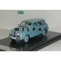 Saab 95 1961 blauw grijs Premium X 1:43
