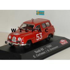 SAAB 95 1961 Monte Carlo Rally Carlsson Svensson Atlas 1:43