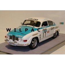 SAAB 96 1:18 V4 RAC Rally 1974 Rainio Lehto Tecno Models
