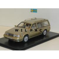 Volvo 960 Estate goud beige met. NEO 1:43