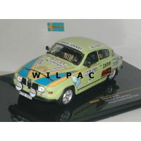 SAAB 96 1976 winner Sweden Rally Eklund Cederberg #4 Ixo RAC235 1:43