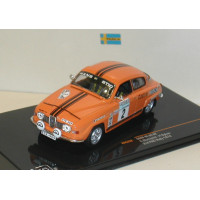 SAAB 96 1975 Swedish Rally #1 Blomqvist Sylvan 1:43 Ixo