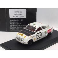 SAAB 96 1964 East African Safari Rally #28 SMCC Trofeu 1:43