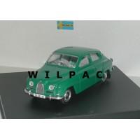 SAAB 96 1960 groen Trofeu #1501 1:43
