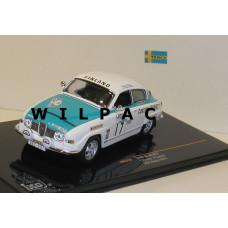 SAAB 96 1974 RAC Rally #17 Rainio + Lehto Ixo