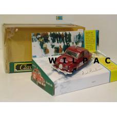 SAAB 96 1963 Monte Carlo Rally #283 Corgi 1:43