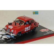 SAAB 96 1963 Monte Carlo Rally #283 Carlsson Palm 1:43 Eaglemoss