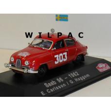SAAB 96 1962 Monte Carlo Rally Carlsson Haggom Atlas 1:43
