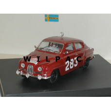 SAAB 96 1963 Monte Carlo Rally #283 Carlsson Palm Trofeu 1:43
