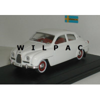 SAAB 96 1961 polar wit SMCC Replicar 1:43